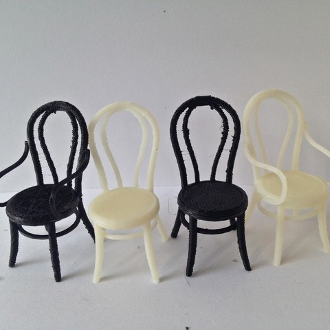 Free 3D printer model 1:24 Thonet Chair, gabutoillegna56