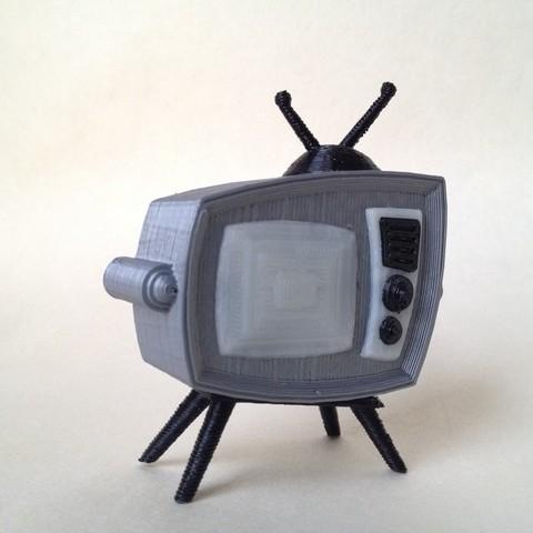 Free 3D print files Retro Television, gabutoillegna56
