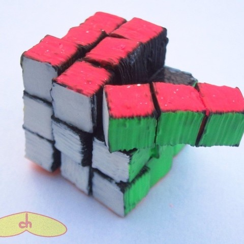 Free 3D printer model Snake cube (parametric), gabutoillegna56