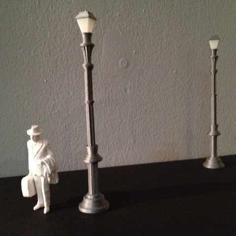 Download free 3D printer designs Streetlamp, gabutoillegna56