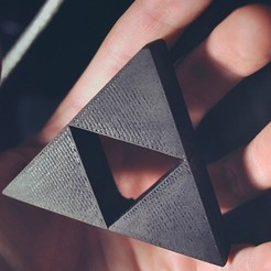 Free 3D print files Triforce, DoloresSegura