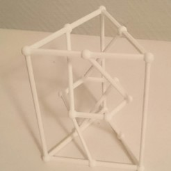 3D printing model Pappus graph, isometry