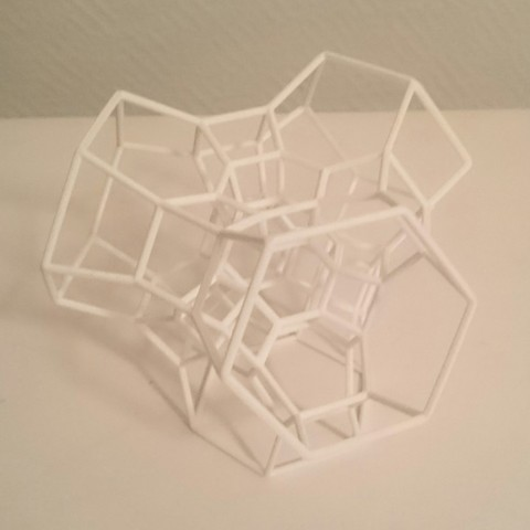 STL files Permutohedron of order 5 (partial), isometry