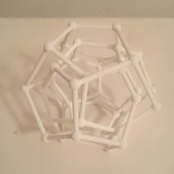 3D print model F40A graph, isometry