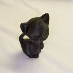 Download free 3D printer designs Kitten, Louisdelgado678