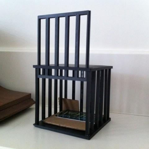 Télécharger objet 3D gratuit Cage avec porte de travail, Louisdelgado678
