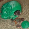 Download free 3D printer templates Skull Bank, Louisdelgado678