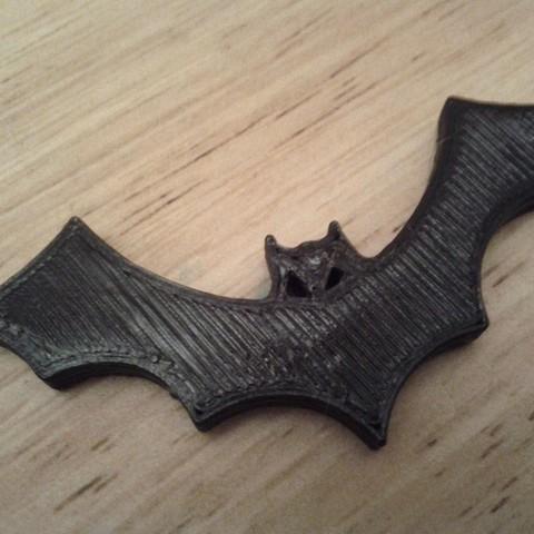 Télécharger fichier STL gratuit Aimant de frigo pour chauve-souris d'Halloween, Louisdelgado678