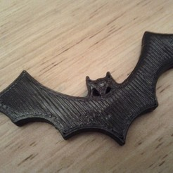 Free STL files Halloween Bat Fridge Magnet, Louisdelgado678