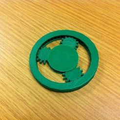 Free 3D printer model Planetary Gear Mechanism (fixed mesh), Louisdelgado678
