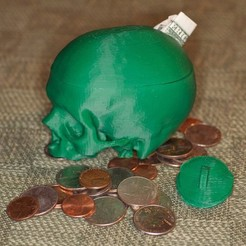 Free 3D printer designs Skull Bank, Louisdelgado678