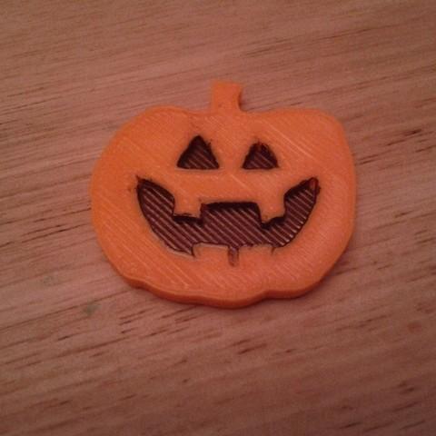 Télécharger modèle 3D gratuit Aimant d'Halloween pour réfrigérateur à la citrouille, Louisdelgado678