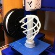Download free 3D printing designs Spiral Lightbulb Sculpture, HelibertoFranco