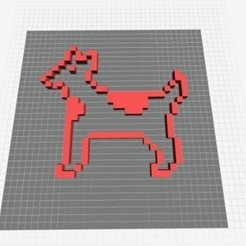 Download free 3D print files MacPaint CowDog, strangemusicinmyhead