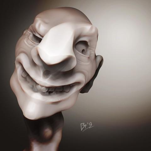 Free 3D model The Creep, strangemusicinmyhead
