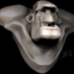 Modelos 3D gratis Mongo, strangemusicinmyhead