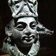 Download free 3D printer designs Mask of Vishnu as Para Vasudeva, metmuseum