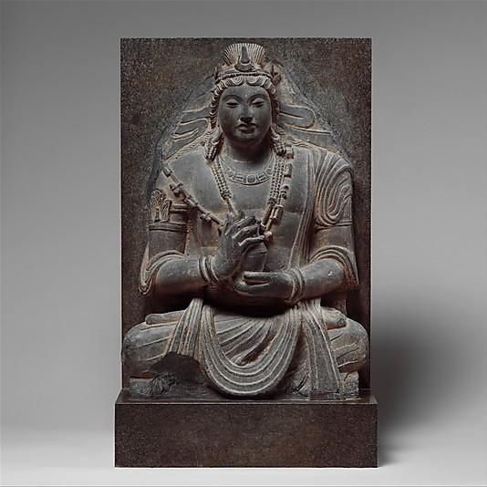 DP123394_display_large_display_large.jpg Download free STL file Seated Bodhisattva Maitreya • 3D print object, metmuseum