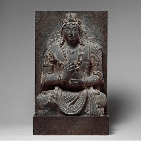 Download free STL files Seated Bodhisattva Maitreya, metmuseum