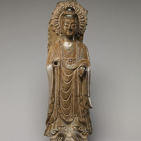 Download free STL files Buddha (Fragment of a Stele) (Head), metmuseum