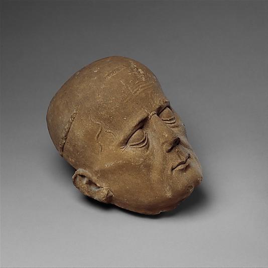 DP134419_display_large.jpg Télécharger fichier OBJ gratuit Tête d'un clerc d'une effigie de tombeau • Plan pour imprimante 3D, metmuseum
