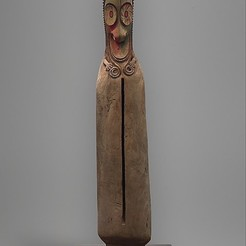 Download free STL file Slit Gong (Atingting kon), metmuseum