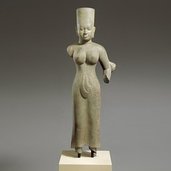Free STL files Standing Female Deity, probably Durga, metmuseum