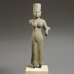 Télécharger fichier STL gratuit Déité féminine debout, probablement Durga, metmuseum