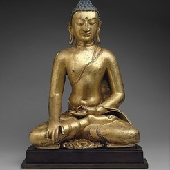 Free 3D printer model Buddha Shakyamuni, metmuseum