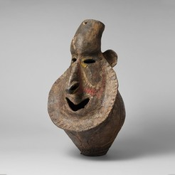 Free 3D model Head for Yam ceremony (Yena), metmuseum