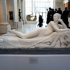 Download free 3D printer files Reclining Naiad, metmuseum