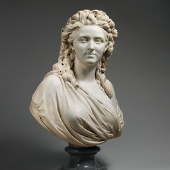 Download free 3D printing files Madame de Wailly, née Adélaïde-Flore Belleville (1765–1838), metmuseum