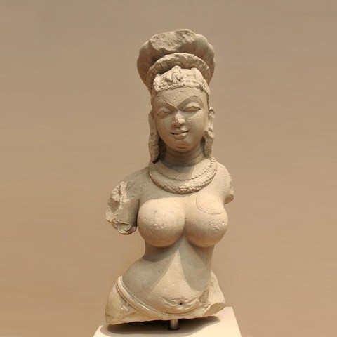 Free STL file Bust of a Female Deity, metmuseum