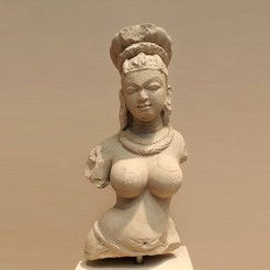 Download free STL files Bust of a Female Deity, metmuseum