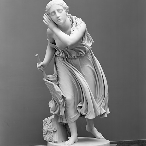 Download free 3D printer files Nydia, the Blind Flower Girl of Pompeii, metmuseum