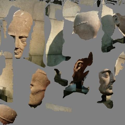 tex_0_display_large.jpg Télécharger fichier OBJ gratuit Tête d'un clerc d'une effigie de tombeau • Plan pour imprimante 3D, metmuseum