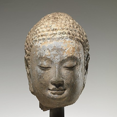 Download free 3D printer model Head of a Buddha, metmuseum