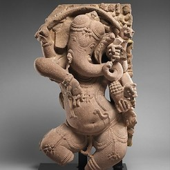 Download free STL file Dancing Ganesha, metmuseum