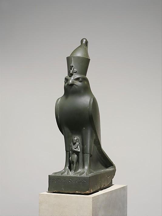 DP152085_display_large.jpg Télécharger fichier OBJ gratuit Dieu Horus protégeant le roi Nectanebo II • Design pour impression 3D, metmuseum
