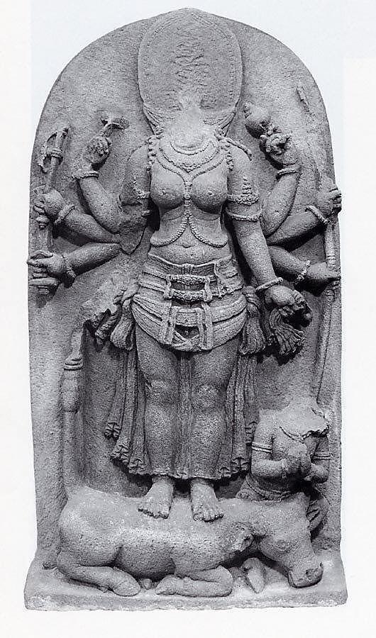 1988_160_display_large.jpg Télécharger fichier OBJ gratuit La déesse Durga victorieuse du démon Buffalo, Mahisha (Mahishasuramardini) • Design imprimable en 3D, metmuseum