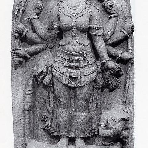 Télécharger STL gratuit La déesse Durga victorieuse du démon Buffalo, Mahisha (Mahishasuramardini), metmuseum