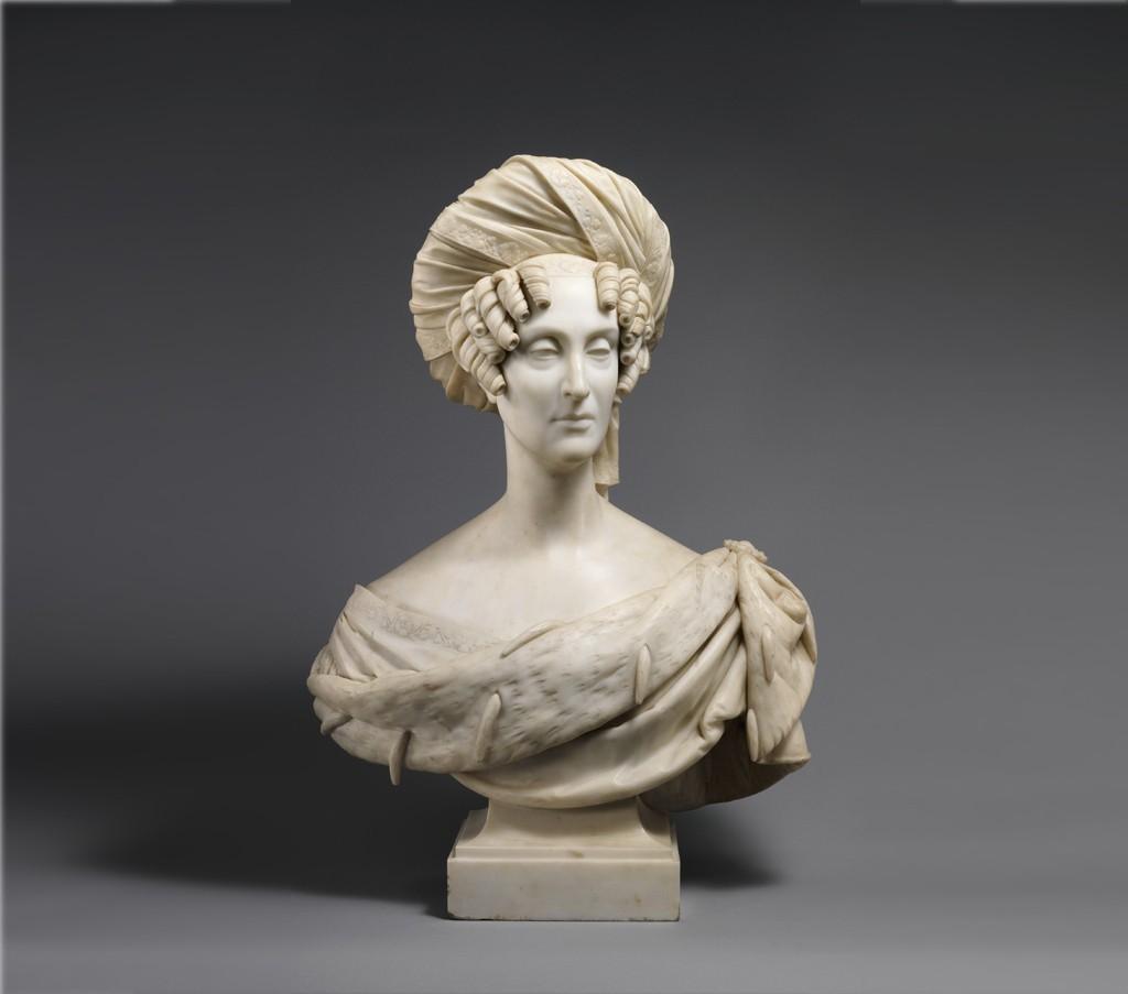 QueenMarieAmelie_display_large_display_large.jpg Télécharger fichier STL gratuit Marie-Amélie, reine des Français • Plan pour impression 3D, metmuseum