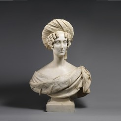 Free STL file Marie-Amélie, Queen of the French, metmuseum