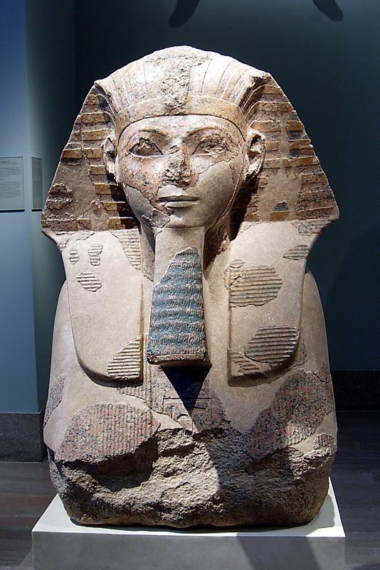 vs31.3.167zz_display_large_display_large.jpg Download free STL file Head and Shoulders of a Sphinx of Hatshepsut • 3D printer object, metmuseum