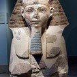 Download free 3D printer model Head and Shoulders of a Sphinx of Hatshepsut, metmuseum