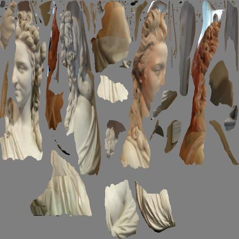 tex_0_display_large.jpg Télécharger fichier OBJ gratuit Madame de Wailly, née Adélaïde-Flore Belleville (1765-1838) • Objet imprimable en 3D, metmuseum