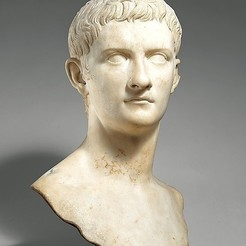 Free 3D print files Marble portrait bust of the emperor Gaius, known as Caligula, metmuseum