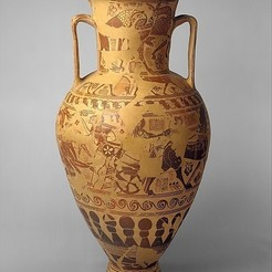 Free 3D printer model Terracotta neck-amphora (storage jar), metmuseum