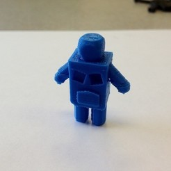 Download free 3D printing templates Little Robot, IsabellaMarques56