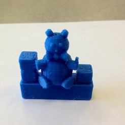 Free 3D printer files Teddy Bear, IsabellaMarques56